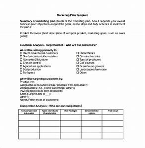 22 microsoft word marketing plan templates free for Publicity plan template