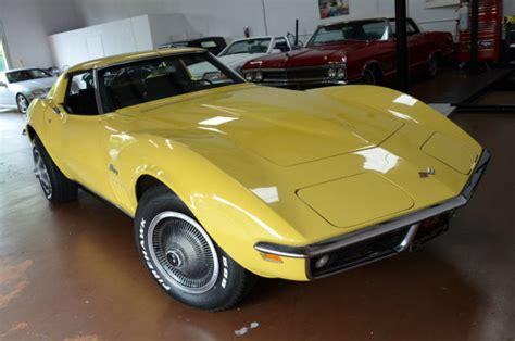 chevrolet corvette stingray  daytona yellow