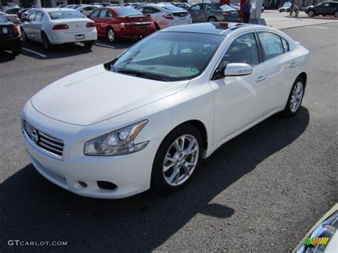Winter Frost White 2012 Nissan Maxima 3 5 Sv Premium