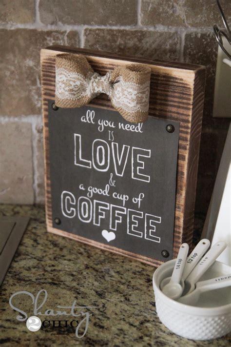 DIY Frame and FREE Coffee Printable!   Shanty 2 Chic