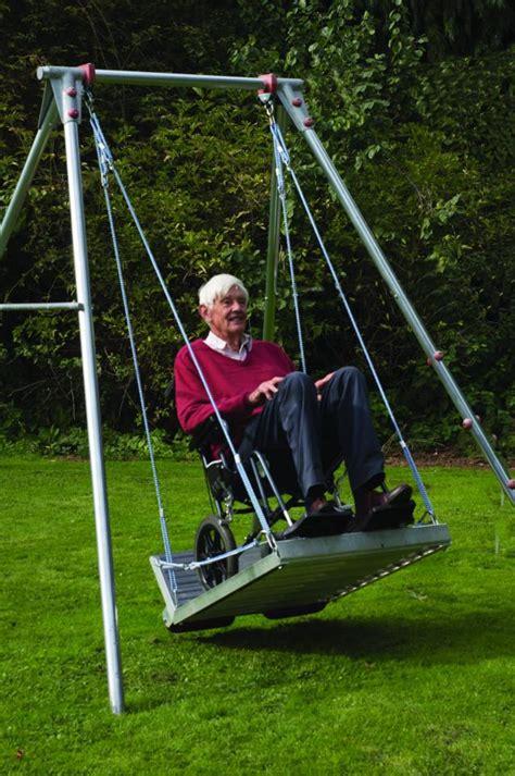 wheelchair platform swing  frame  shipping