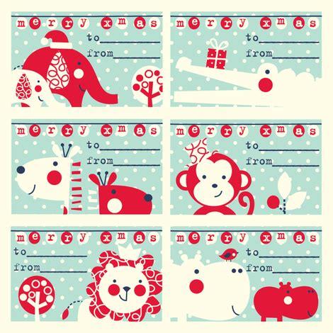 gift tag designs spoonflower design challenge