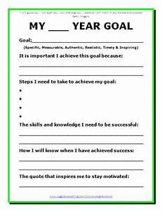 9 Best Images of Goal Setting Printable Worksheet ...
