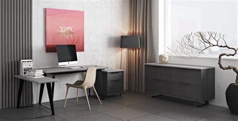 Urbano Gray Concrete Modern Office Desk