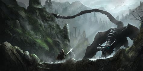 Wallpaper The Elder Scrolls V Skyrim Rock Warrior