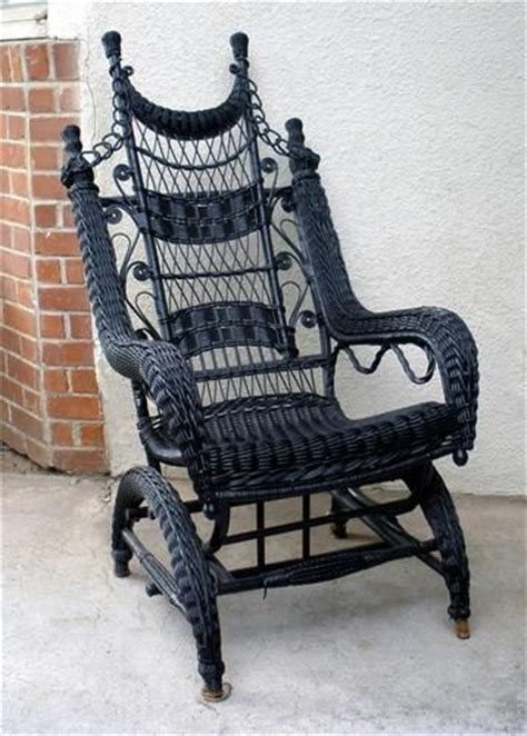 details about antique vintage wicker