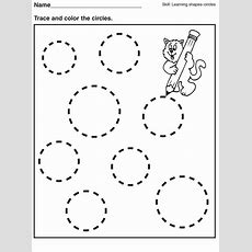 Tracing Pages For Preschool  Kids Worksheets Printable  Preschool, Shapes Worksheets