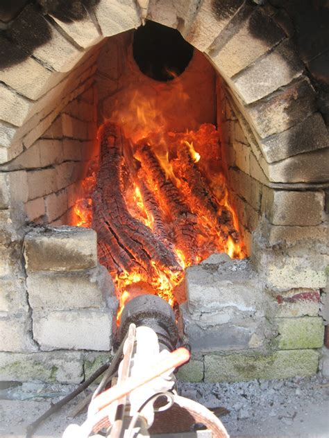 Masonry Design: First forced-air wood kiln firing
