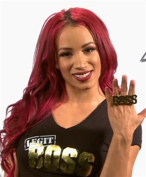 Sasha Banks Boss