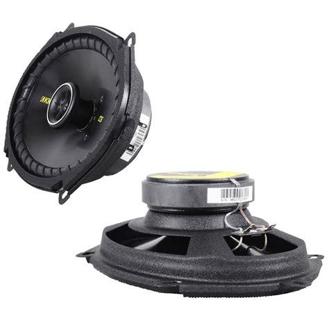 kicker door speakers kicker cs684 car audio 6x8 quot 5x7 quot coaxial 225 watt