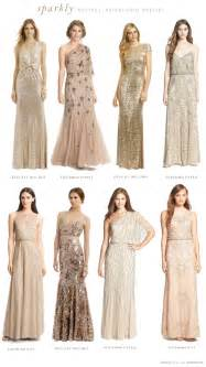 sparkly bridesmaid dresses mismatched neutral bridesmaid dresses