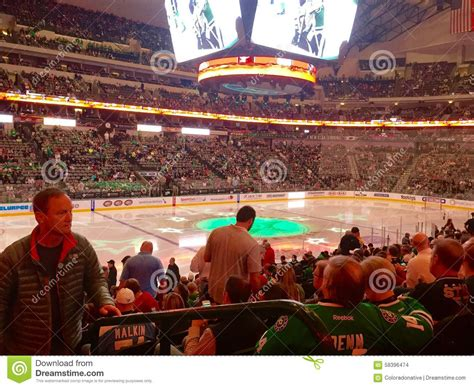 Hockey Game Crowd editorial stock image. Image of arena ...