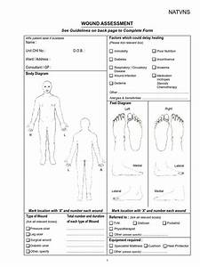 Wound Assessment Chart Pdf Wound Allergy