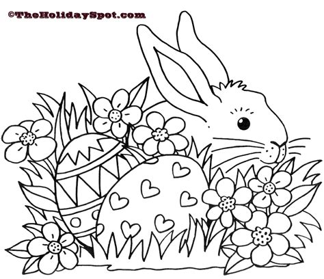 easter pictures to color and print easter coloring pages easter bunny coloring pages