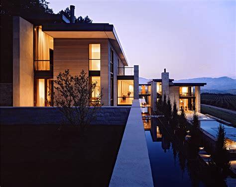 house designs gallery of sonoma vineyard estate aidlin design 6