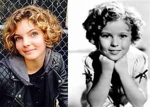 Camren Bicondova (Selena Kyle) reminds me of Shirley ...