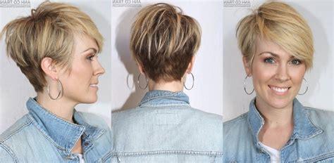 Achterkant Korte Kapsels Haartrends 2018 : Kapsel 2018