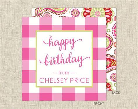 gift enclosure cards  envelopes gingham gift