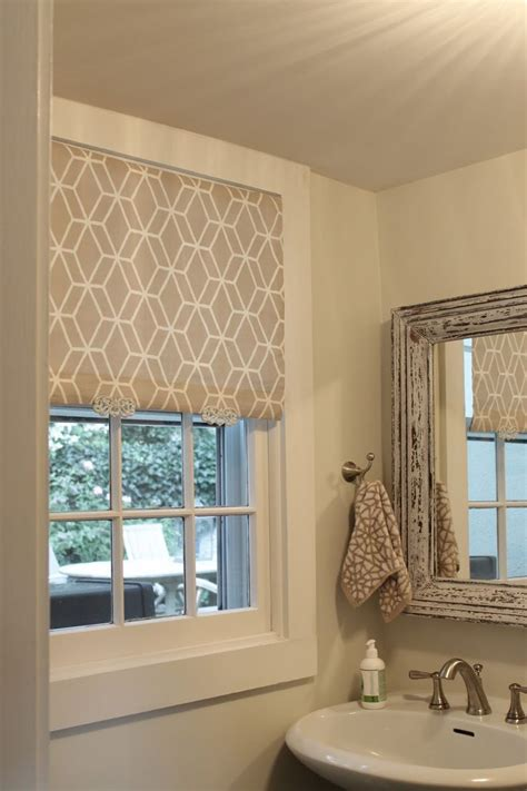 bathroom window coverings ideas the picket fence projects so shady white roller blind