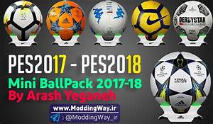 PES 2017-18 Mini BallPack Season 2017-18 By Arash Yeganeh ...