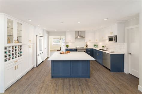 kitchen cabinets reno nv blue cabinets deliver punch to kitchen reno modern home 6355