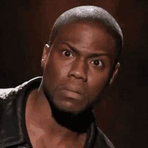 Kevin Hart Stare GIF - KevinHart Stare Blink - Discover ...