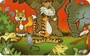 fox reared   lion stories  panchatantra