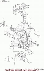 Suzuki Dr250 1990  L  Usa  E03  Carburetor