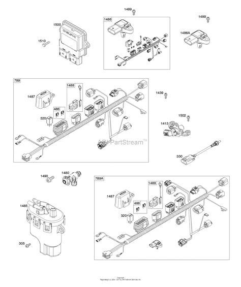 Briggs Stratton Parts Diagram For Wire