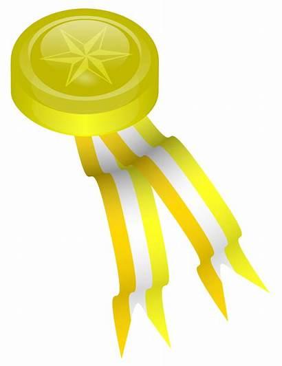 Gold Medal Medallion Clipart Svg Vector Award