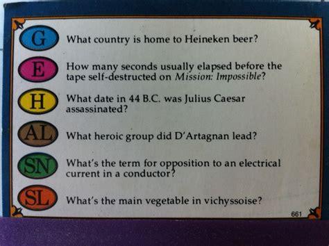 trivial pursuit modern questions landmark part 2 kevin g nunn