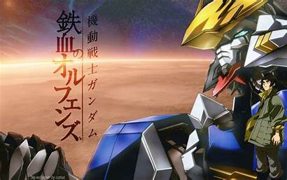 Gundam Blooded Orphans Iron Suit Mobile Wallpapers