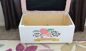 Coffre Jouet Enfant : fabriquer un coffre jouet pour chambre d 39 enfant ~ Teatrodelosmanantiales.com Idées de Décoration