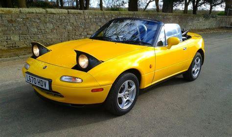 Yellow Mazda Miata For Sale