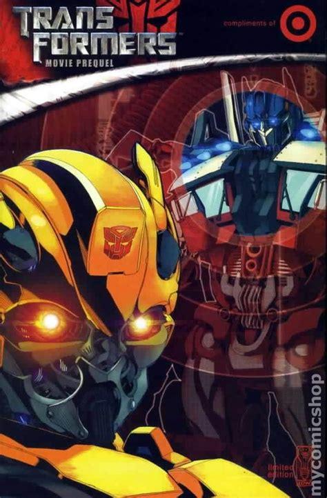 transformers  prequel  target exclusive comic books