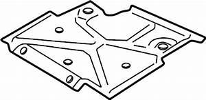 Chevrolet S10 Powertrain Skid Plate  Front  Suspension