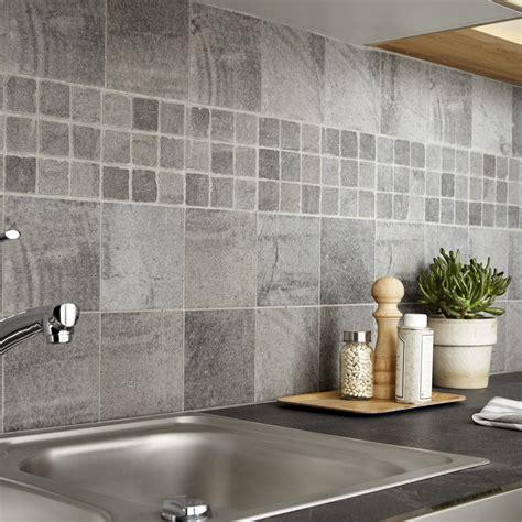 joint carrelage mural cuisine carrelage sol et mur gris vestige l 15 x l 15 cm leroy