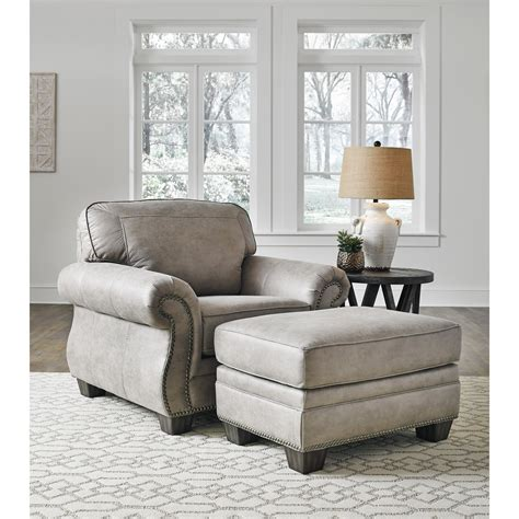 Ottoman Furniture by Signature Design By Olsberg Transitional Chair And