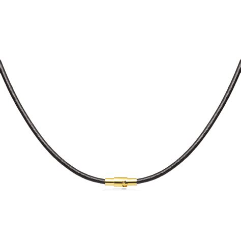 3mm Black Leather Cord Necklace Choker Gold Toned Magnetic. Catalytic Converter Platinum. Solid Silver Rings. Peace Sign Bracelet. 14k Diamond. Unique Silver Chains. Seahorse Necklace. Light Weight Gold Necklace. Straight Bar Necklace