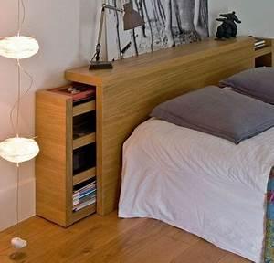 Tete De Lit Rangement : tete de lit avec rangement tete lit rangement sur enperdresonlapin ~ Teatrodelosmanantiales.com Idées de Décoration