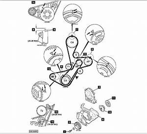 I Need The Diagram Of The Timing Belt And Balance Belt For