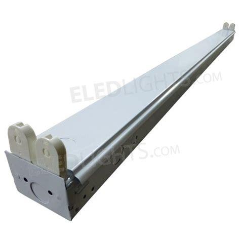 led ls for fluorescent fixtures 4ft led fixture holds two 4ft led tubes eledlights
