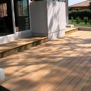 Terrasse Bois Exotique : lame de terrasse bois exotique garapa 2780x140x21 ~ Melissatoandfro.com Idées de Décoration