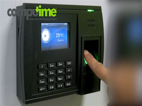 advantages   fingerprint clocking  machine computime uk