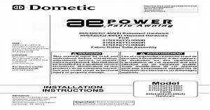 Dometic Power Awning 895 Parts