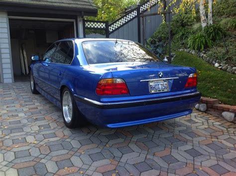 Bmw Full Form In German by Estoril Blue 1999 Bmw 750il German Cars For Sale Blog