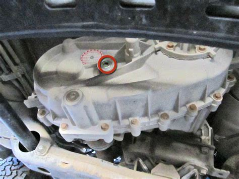 dodge ram  transfer case oil replacement