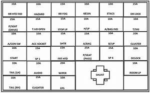 2001 Kia Optima Fuse Diagram