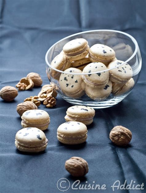cuisine addict com roquefort cheese banana walnuts macarons cuisine addict