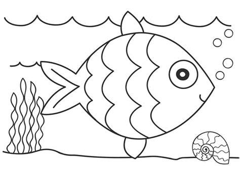 13 gambar ikan kartun untuk mewarnai